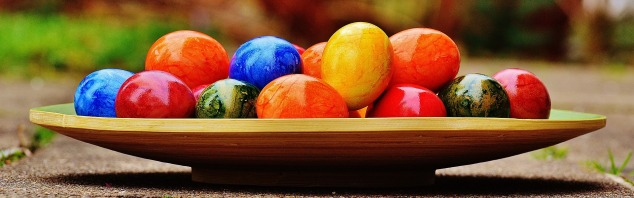 easter eggs colour Alexas_Fotos